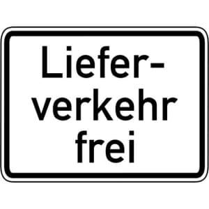 Zusatzzeichen Lieferverkehr frei Zusatzschild VZ 1026-35