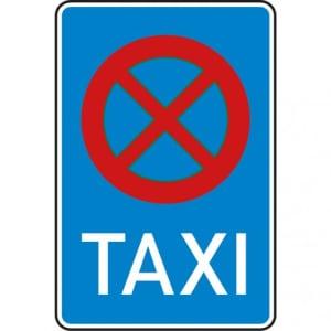 VZ 229 Verkehrsschild Taxi Halteverbotsschild