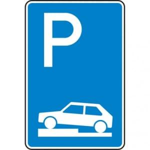VZ 315-70 Parken auf Gehwegen Schild
