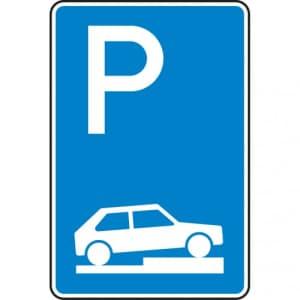 Verkehrszeichen 315-75 Parken auf Gehwegen Schild