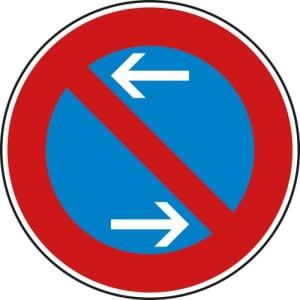 VZ 286-30 Schild  Eingeschränktes Halteverbot Mitte