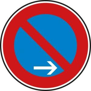 VZ 286-20 Verkehrsschild  Eingeschränktes Halteverbot Ende