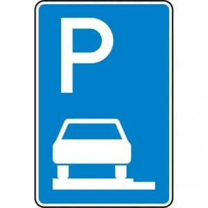 Verkehrszeichen 315-60 Parken auf Gehwegen Schild