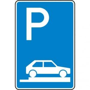 Verkehrszeichen 315-85 Parken auf Gehwegen Schild