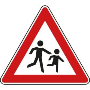 Verkehrsschild Achtung Kinder - VZ 136-20