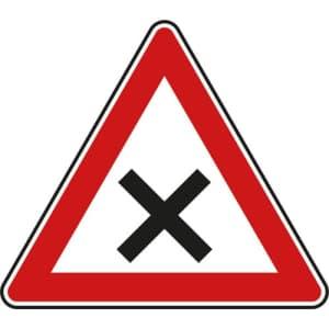 VZ 102 - Verkehrsschild Kreuzung oder Einmündung