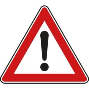 VZ 101 - Verkehrsschild Allgemeine Gefahrenstelle