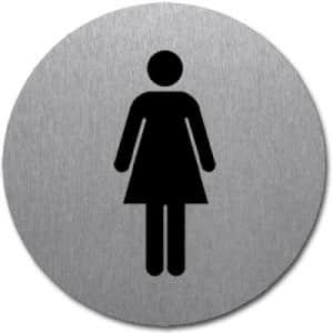 Symbol - WC Damen (rund)