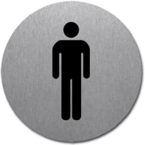 Symbol - WC Herren (rund)