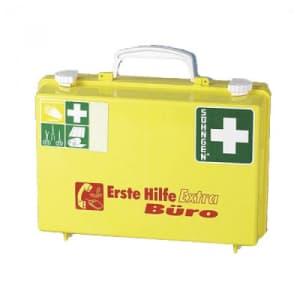 Erste-Hilfe-Koffer - mit Aufschrift: Büro