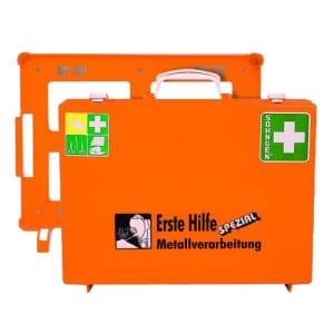 Erste-Hilfe-Koffer Beruf Spezial - Metallverarbeitung nach Ö-Norm Z 1020-1
