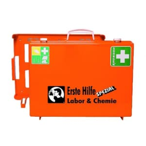 Erste-Hilfe-Koffer Beruf Spezial - Labor und Chemie nach Ö-Norm Z 1020-1