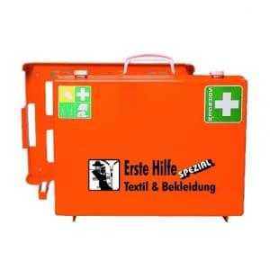 Erste-Hilfe-Koffer Beruf Spezial - Textil und Bekleidung nach Ö-Norm Z 1020-1