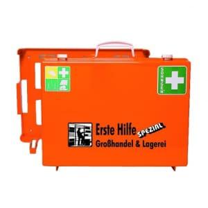 Erste-Hilfe-Koffer Beruf Spezial - Großhandel und Lagerei nach Ö-Norm Z 1020-1