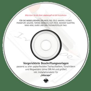 Beschriftungsvorlagen Inkscape inkl. Piktos