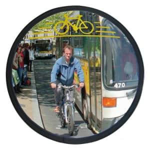 Verkehrsspiegel für Radfahrer CYCLOMIR - Überprüfung von 2 Richtungen