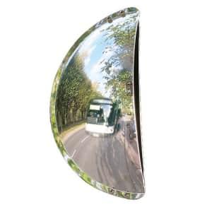 Verkehrsspiegel für Parkplatzausfahrten mit weitem Blickwinkel - Überprüfung von 3 Richtungen