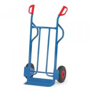 Stahlrohrkarre mit kleiner Schaufel - Tragkraft 350 kg
