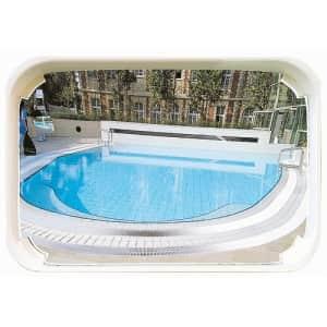 Überwachungsspiegel für Schwimmbäder (Außenbereich)