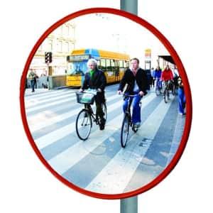 Verkehrsspiegel für Radfahrer TRIXI - Überprüfung von 2 Richtungen