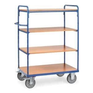 Etagenwagen mit 4 Böden - Tragkraft 500 / 600 kg