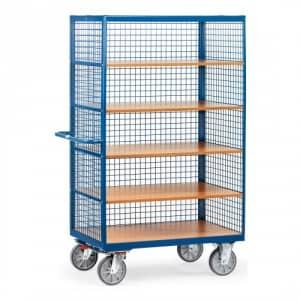 Kastenwagen mit Drahtgitterwänden - Tragkraft 750 kg
