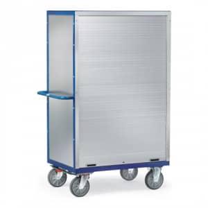 Kastenwagen mit Alu-Wänden und Rollladenverschluss - Tragkraft 750 kg