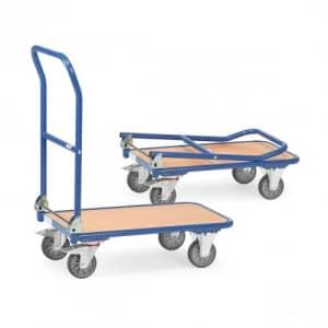 Klappwagen mit Holzboden - Tragkraft 250 kg