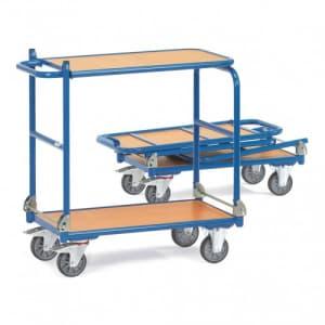 Klappwagen mit 2 Holzböden - Tragkraft 250 kg
