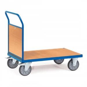 Stirnwandwagen mit Holzwänden - Tragkraft 500 / 600 kg