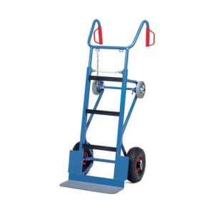 Gerätekarre mit Luftbereifung und Stützrädern - Tragkraft 400 kg