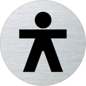 Piktogramm - Herren (rund, Motiv 4)