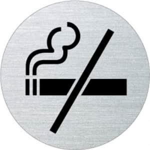Piktogramm - Rauchen verboten (rund, ohne Rand)