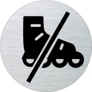 Piktogramm - Inline Skates verboten (rund, ohne Rand)