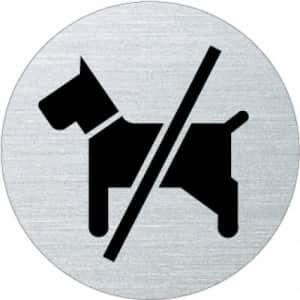 Piktogramm - Hunde verboten (rund)