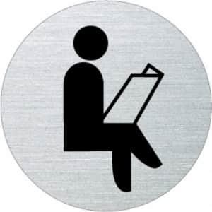 Piktogramm - Warteraum (rund)