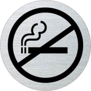 Piktogramm - Rauchen verboten (rund, mit Rand) Motiv 1