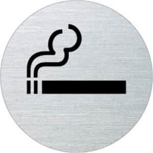 Piktogramm - Rauchen gestattet (rund)