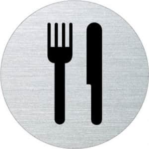 Piktogramm - Essen/Speisesaal (rund)