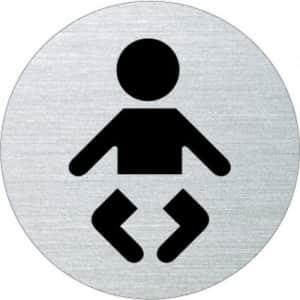 Piktogramm - Wickelraum (rund)