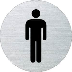 Piktogramm - Herren (rund)