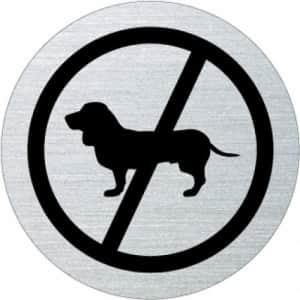 Piktogramm - Hunde verboten (Motiv Dackel)