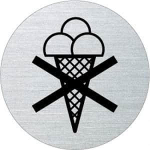 Piktogramm - Eisverbot (rund, ohne Rand)