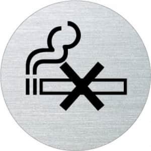 Piktogramm - Rauchen verboten (rund, ohne Rand) Motiv 2