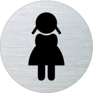 Piktogramm - Damen (rund, Motiv 5)