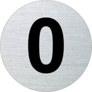 Nummernschild - 0