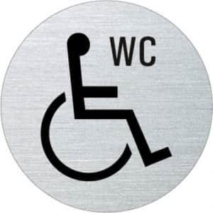 Piktogramm - WC behindertengerecht (rund)