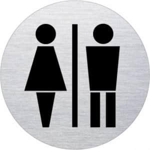 Piktogramm - Damen/Herren (rund, Motiv 3)