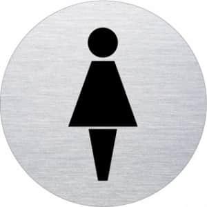 Piktogramm - Damen (rund, Motiv 3)