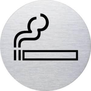 Piktogramm - Rauchen gestattet (Motiv 2)